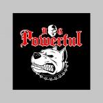 """Powerful Dog pánske tričko (nie mikina!!) s dlhými rukávmi vo farbe """" metro """" čiernobiely maskáč gramáž 160 g/m2 materiál 100%bavlna"""