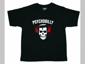 Psychobilly  detské tričko 100%bavlna Fruit of The Loom
