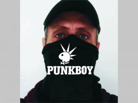 Punkboy univerzálna elastická multifunkčná šatka vhodná na prekritie úst a nosa aj na turistiku pre chladenie krku v horúcom počasí (použiteľná ako rúško )