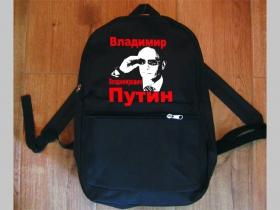 Vladimir Vladimirovič Putin jednoduchý ľahký ruksak, rozmery pri plnom obsahu cca: 40x27x10cm materiál 100%polyester