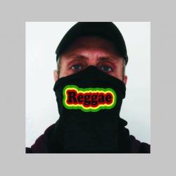 Reggae univerzálna elastická multifunkčná šatka vhodná na prekrytie úst a nosa aj na turistiku pre chladenie krku v horúcom počasí