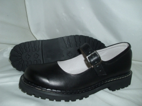 Steadys, čierne matné sandále kožené bez oceľovej špičky s klasickou steadys podrážkou