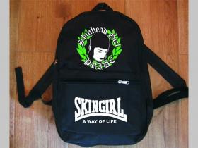 Skingirl a Way of Life  jednoduchý ľahký ruksak, rozmery pri plnom obsahu cca: 40x27x10cm materiál 100%polyester