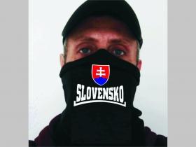 Slovakia - Slovensko univerzálna elastická multifunkčná šatka vhodná na prekritie úst a nosa aj na turistiku pre chladenie krku v horúcom počasí (použiteľná ako rúško )
