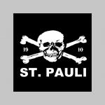 St.Pauli zimná pánska bunda zateplená čierno-olivová s kapucňou