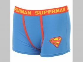 """Superman, pánske """"boxerky"""" modré 95%bavlna 5%elastan"""