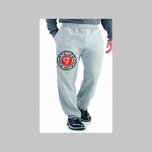 5a12c4110b2b Aikido - Self Defense tepláky s tlačeným logom