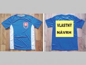 VLASTNÝ NÁVRH NA CHRBÁT  Futbalový dres Slovensko - Slovakia, značka Donnay