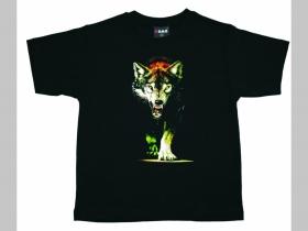 Vlk  detské tričko 100%bavlna Fruit of The Loom