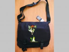 Vlk  čierna taška cez plece