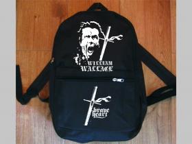 Wiliam Wallace - Statočné srdce jednoduchý ľahký ruksak, rozmery pri plnom obsahu cca: 40x27x10cm materiál 100%polyester