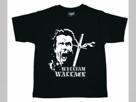 William Wallace atatočné srdce detské tričko 100%bavlna Fruit of The Loom