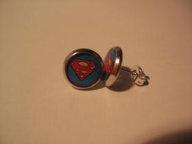 Superman, náušnica, priemer 0,9mm (cena za 1ks!)
