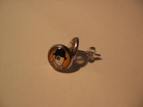 Clockwork Orange, náušnica, priemer 0,9mm (cena za 1ks!)